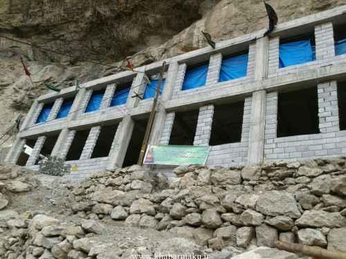 نو سازی مسجد حضرت ابوالفضل شهرستان ماکو