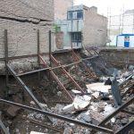 ریزش یک باب ساختمان در پی گودبرداری غیراصولی در ماکو