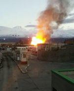 انفجار خط لوله گاز صادراتی ایران در داخل خاک ترکیه است