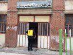 ضدعفونی و گندزدایی اماکن ورزشی شهرستان ماکو