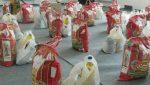 ۷۰۰ بسته معیشتی بین آسیبدیدگان از کرونا در شوط توزیع شد