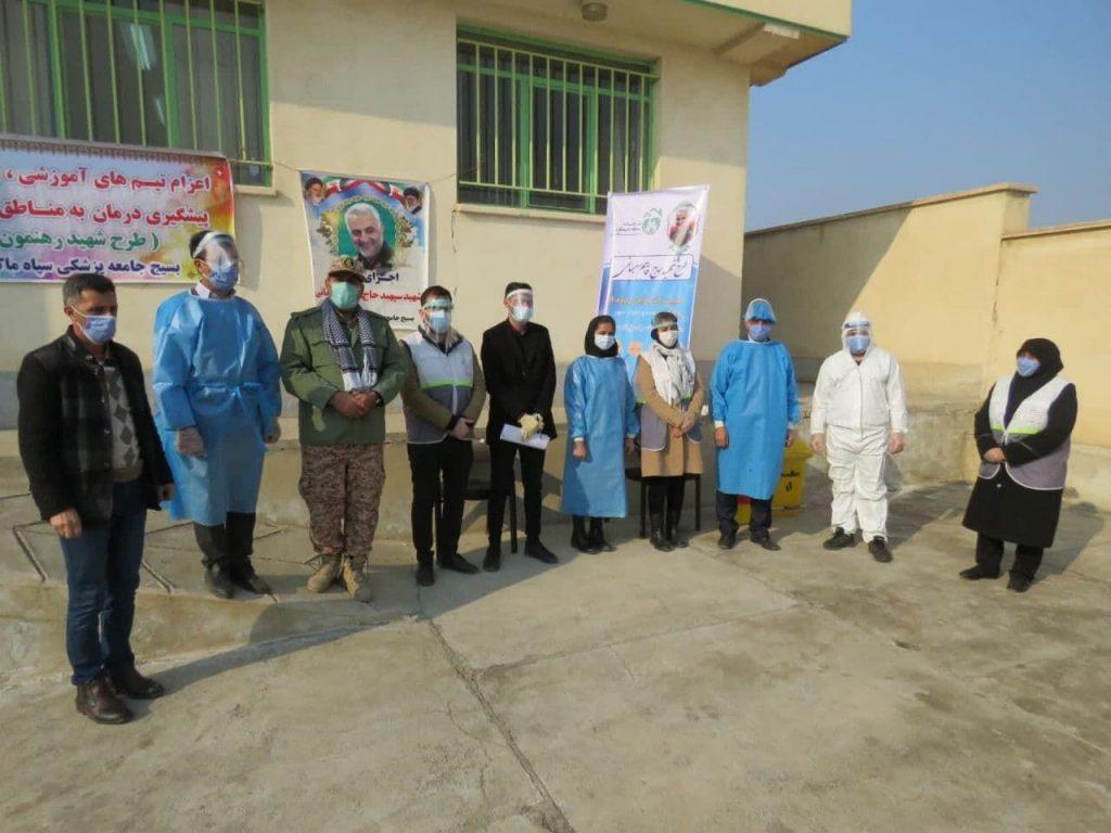 اجرای طرح شهید سلیمانی در منطقه صفر مرزی ماکو