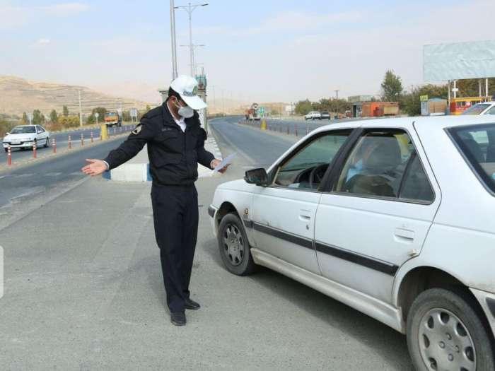 هزار و ۴۰۰ خودرو در اجرای محدودیت کرونایی از ورودی ماکو برگشت داده شد