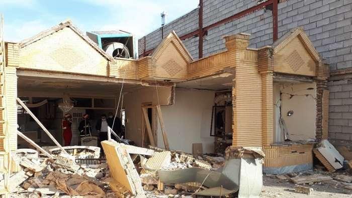 انفجار گاز یک دستگاه واحد مسکونی در ماکو تخریب کرد