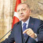 اردوغان سوار اتوبوس الکتریکی بدون راننده شد +عکس